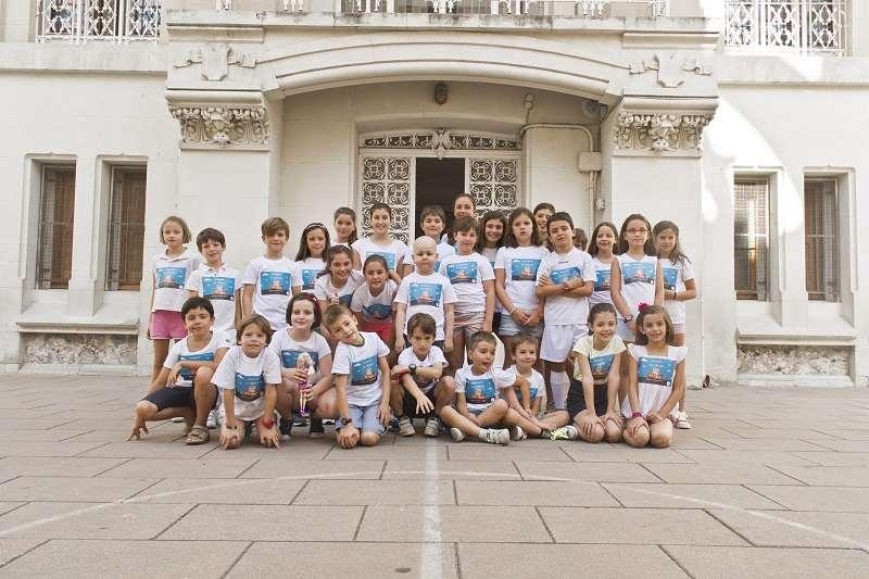 Participantes del vídeo La Vuelta al Cole 2015