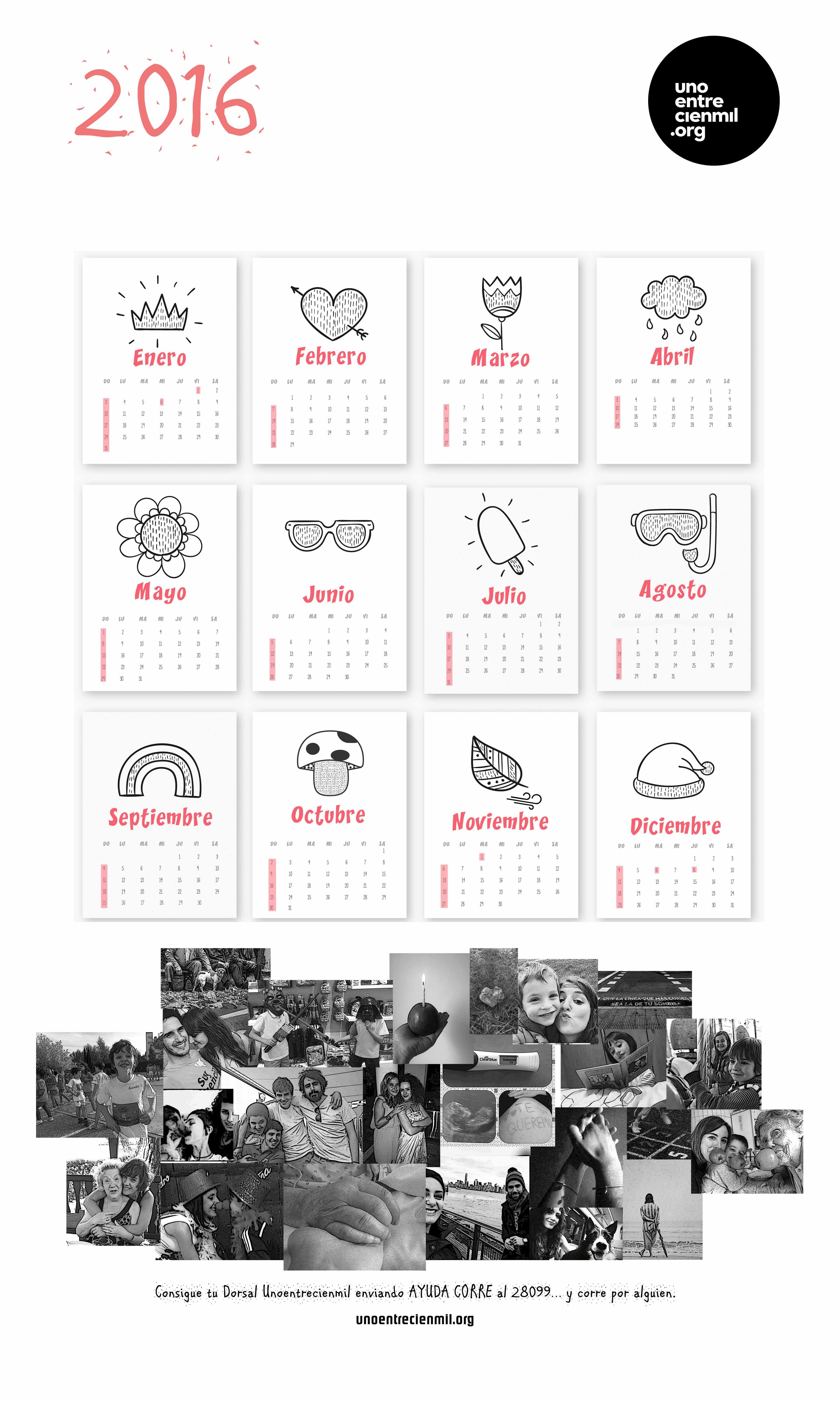 calendario 2016 uecm peque